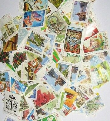 Australia 500 x 55 Cent Stamps Unfranked With Out Gum