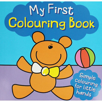 My First Colouring Book - Teddy Bear (Paperback), Children's Books, Brand New