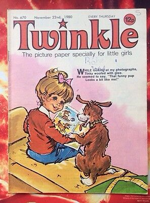 Twinkle  Comic No. 670. 22 November 1980. Fn. With Dress Twinkle Page