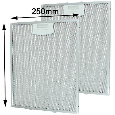 BOSCH DKE DWW series Cooker Hood Vent Extractor Metal Mesh Filters 310 x 250 mm