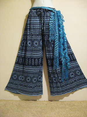 Gently Used Lot - Tribal Belly Dance Harem Pants & Accent Sashes