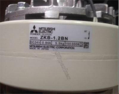 1Pc ZKB-1.2BN Mitsubishi Brand New Tension Magnetic Powder Clutch cr