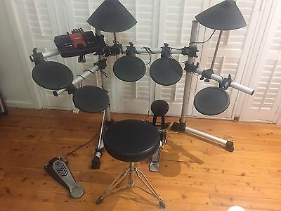 Yamaha DTXplorer Electronic Drum Set 7 piece.