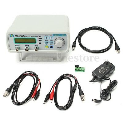 25MHz Dual-Channel Arbitrary Waveform DDS Function Signal Source Generator