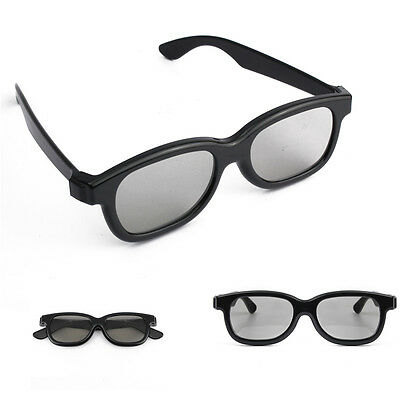 5 Pairs Passive 3D Glasses Family Set For Panasonic Sony Samsung LG 3D TVs