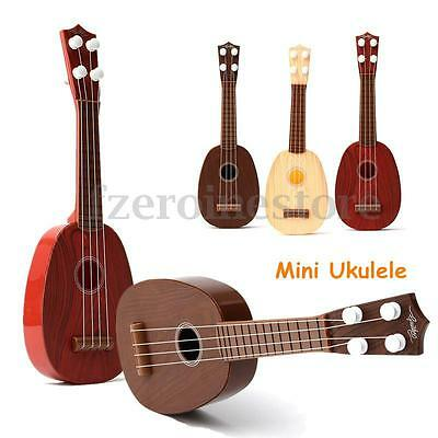 4 String Guitar Ukulele Musical Instrument Kids Children Christmas Xmas Gift Toy