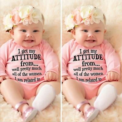 Cotton Toddler Newborn Baby Girl Boy Clothes Bodysuit Romper Playsuit Outfit Hot