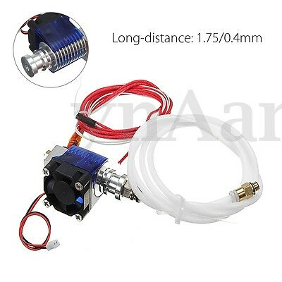 12V E3D V6 3D Printer Extruder J-head Hotend Bowden For 1.75mm Filament Fan