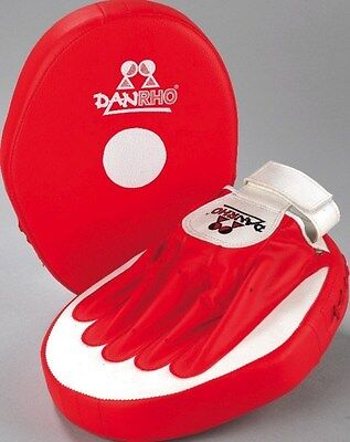 Coaching Mitt Set Fitman Plus, Dan Rho. Pratze, Boxen, Kickboxen, Karate, TKD
