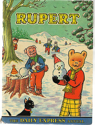 Vintage Collectable Rupert 1984 The Daily Express Annual  Hardback Book