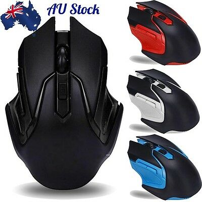2.4GHz 3200DPI 6 Keys Wireless Optical Gaming Mouse Mice For Computer PC Laptop