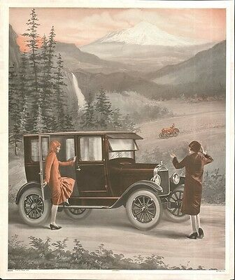 Model A Ford Poster  Original Vintage By Universe