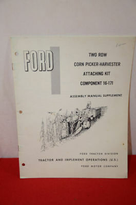 Ford two row corn picker harvester attaching kit component 16-171 1427