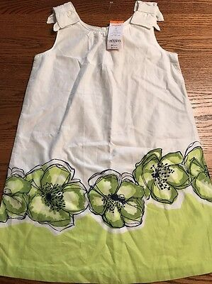 Gymboree Girls Size 10 The Lawn Party Collection Floral Shift Dress NWT