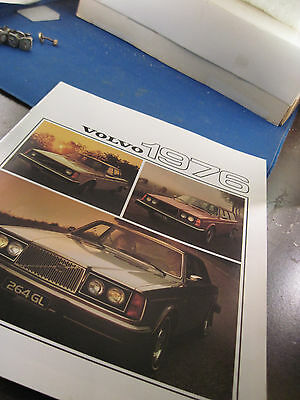 1976 Volvo full line  8 page color brochure