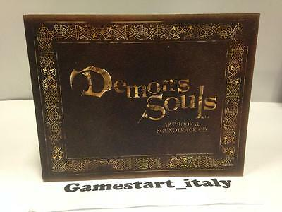 Demon's Souls Artbook And Soundtrack Cd - Nuovo New