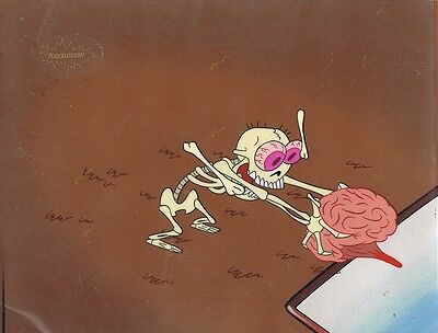 Ren & Stimpy Original Production Cel Animation Art Nickelodeon Cell COA Salve