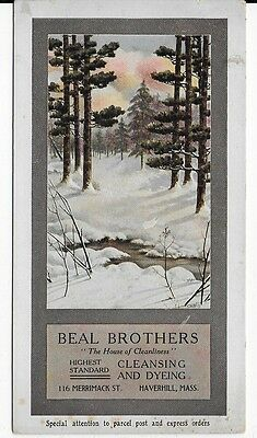 BEAL BROS, Cleansing/Dyeing, Haverhill, MA