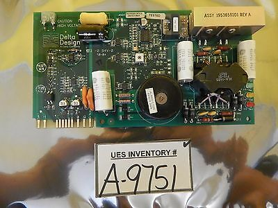 Delta Design 1943355502 Power Supply Board PCB 2001-585-000 Rev. A Used Working
