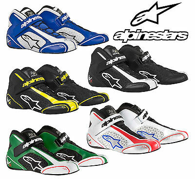 Alpinestars Tech 1-KX Patin,Karting Kart Course Bottes Fin de stocks,Autograss