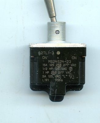 Microswitch 2Tl1-3 Toggle Switch Nos 125 250 Vac New