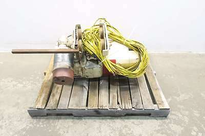 Coffing W/ Electric Trolley 2Ton Electric Hoist D562554