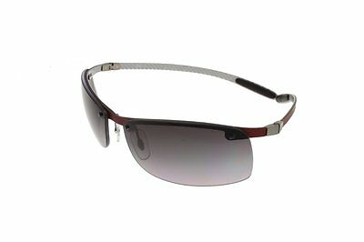 RAY-BAN Red on Light Carbon / Grey Polarized RB8305 142/T3 63