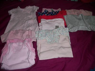 Baby Girls Clothes Bundle F&F, Nutmeg, George, Mothercare, M&S 0-3 months.