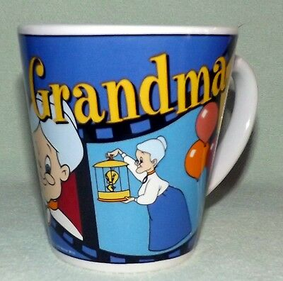 Looney Tunes TWEETY and GRANDMA Mug Ceramic Coffee Cup Mug Warner Bros