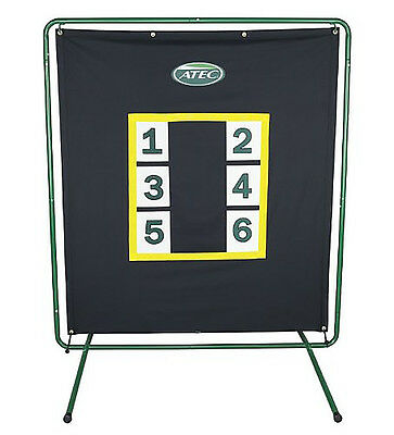 Atec Wilson Pro Pitcher Screen Back Stop Target W/stand At2074 - Free Shipping