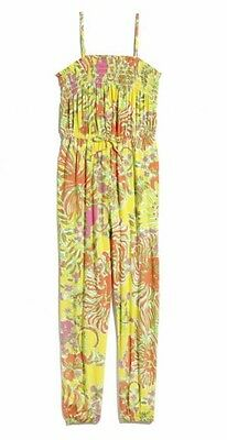New! Lilly Pulitzer for Target Girls' Jumpsuit One piece Happy Place XL (14-16)