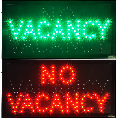 VACANCY/NO hotel motel LED store Open Sign neon Light room vacant Switch chain