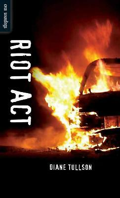 Riot Act by Diane Tullson (English) Paperback Book Free Shipping!