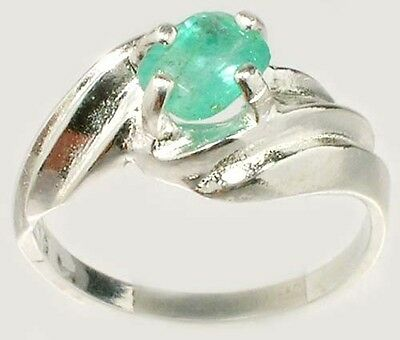 Emerald Ring ¾ct Antique 19thC Siberia Ancient Egyptian Sumerian Immortality Gem