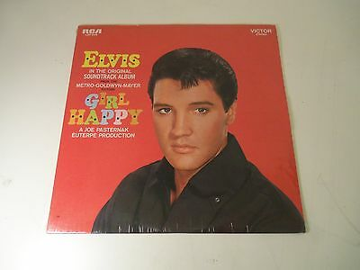 FACTORY SEALED LP ELVIS in Girl Happy RCA VICTOR LSP-3338 STEREO
