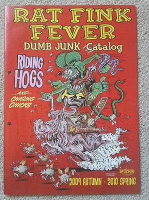 Rat Fink Fever 2009 Mooneyes catalog from Japan ed big daddy roth Felix the cat