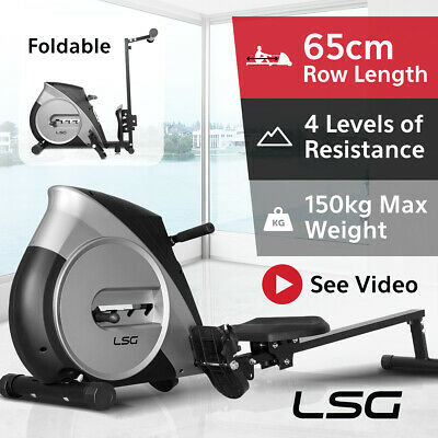 LSG Rower Rowing Machine #Exercise Machine Fitness Cardio Strength