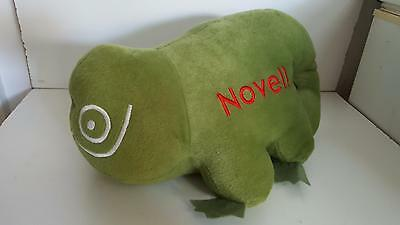 "Novell drugs green dinosaur 15"" long excellent condition"