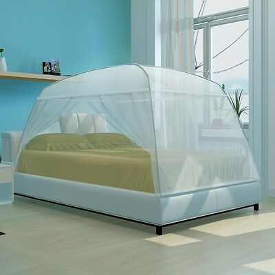S# Mongolia Mosquito Net Bed Canopy Camping Netting Queen Size Insect Screen Ten