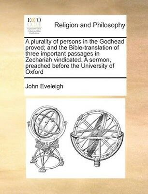 NEW A Plurality Of Persons In The Godhead... BOOK (Paperback / softback)