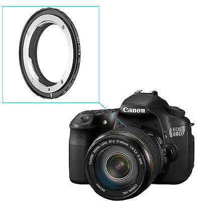 Neewer Lens Mount Adapter for Nikon F Lens to Canon EOS EF, EF-S Mount Camera