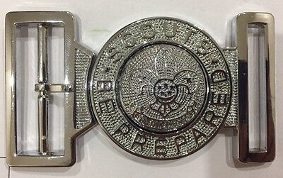 singapore scouts belt buckle ( only the buckle)