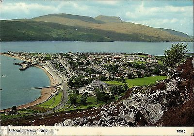Ullapool, Wester Ross, colour postcard, posted 1976