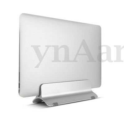 Aluminum Laptop Desktop Stand Silver Holder Dock For Up to 15'' MacBook Air/Pro