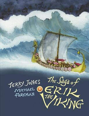 Saga of Erik the Viking by Terry Jones Paperback Book Free Shipping!