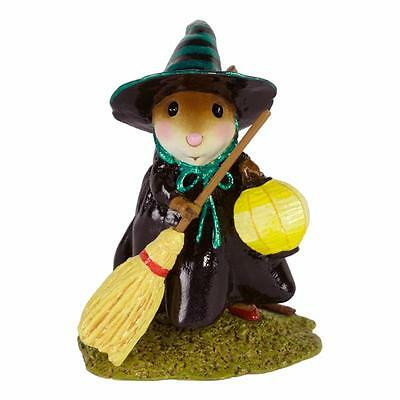 Wee Forest Folk  M-583 Little Witch with Lantern