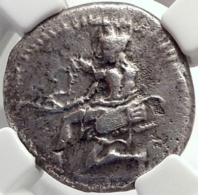 CILICIA: Soloi, 440 BC Authentic Ancient Greek Silver Coin: Amazon,Grapes, fly