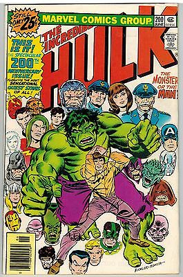 Incredible Hulk #200 1976 Anniversary Issue Marvel Bronze Age!