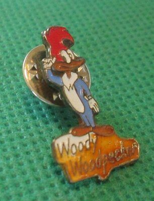WOODY WOODPECKER pinback lapel Pin ~1""