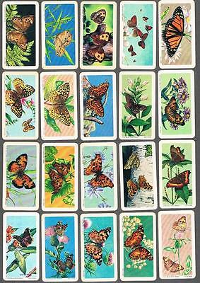 1966 Brooke Bond Butterflies of North America Trading Cards Complete Set of 48